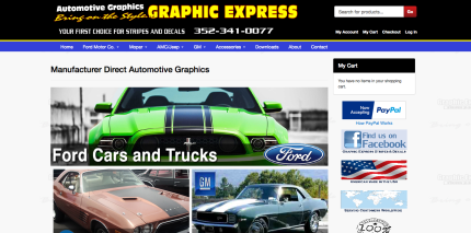 Website Design for Graphic Express